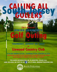 Jewish Community Golf Outing @ Linwood Country Club | Linwood | New Jersey | United States