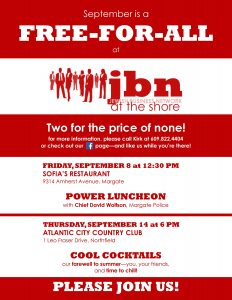JBN Luncheon @ Sofia's Restaurant | Margate City | New Jersey | United States