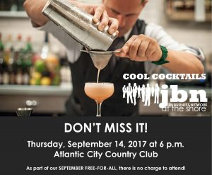 JBN Cool Cocktails @ Atlantic City Country Club | Northfield | New Jersey | United States