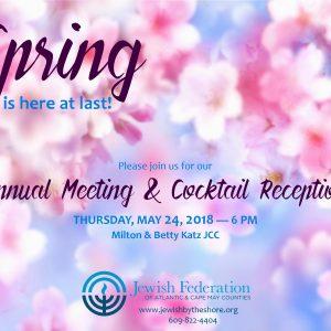 Federation Annual Meeting @ Jewish Community Center, Auditorium |  |  |