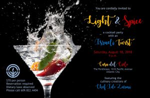 Light & Spice Cocktail Party @ Casa del Cielo | Atlantic City | New Jersey | United States