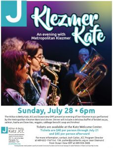 Klezmer Kafe @ Jewish Community Center
