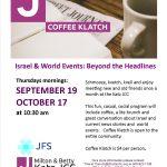 10.19 Coffee Klatch