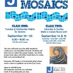 2019 mosaic classs