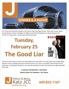 Dinner & Movie - The Good Liar @ Milton & Betty Katz JCC