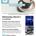 brunch and learn March 4