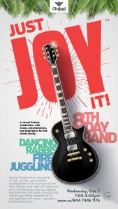 Just Joy It! @ Chabad Chai Center
