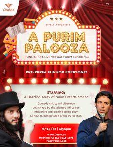 Purim Palooza @ Zoom with Chabad