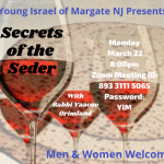 Secrets of the Seder 3.22.2021